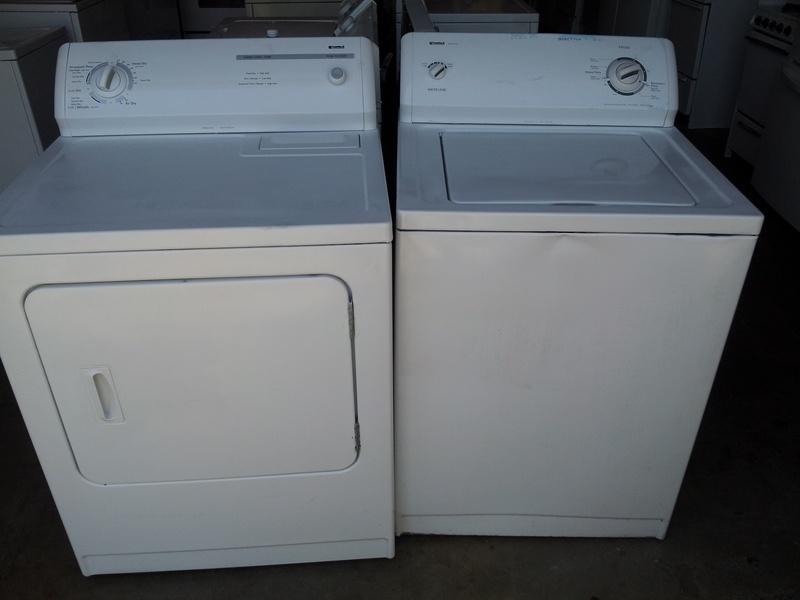 Kenmore newer basic washer/dryer