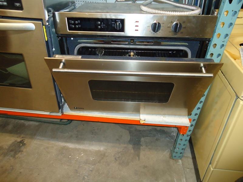 "GE MONOGRAM 30"" conv wall oven"