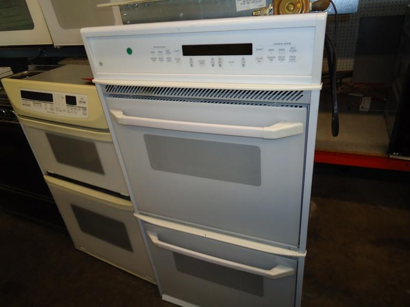 """GE 30"""" double wall oven"""