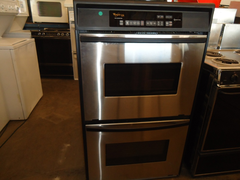 Whirlpool gold conv. upper double wall oven