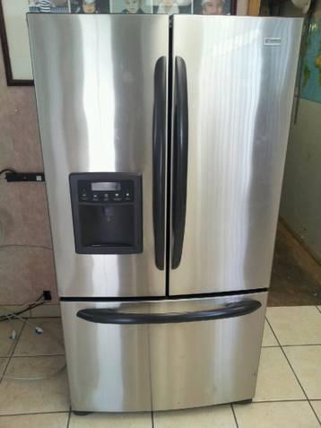 Kenmore elite bottom freezer french door stainless steel